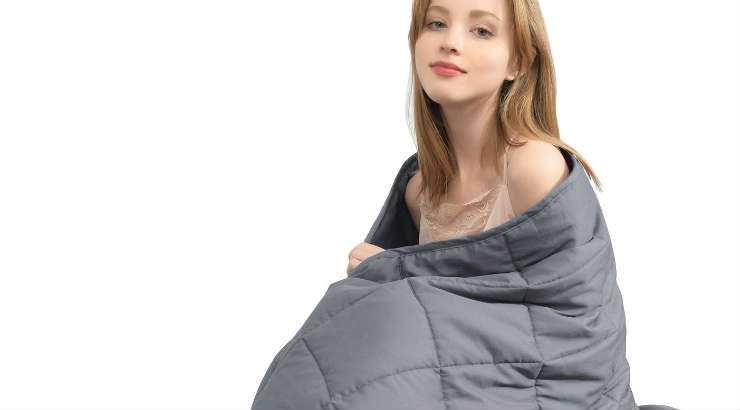 Organic kids weighted blanket from Ourea